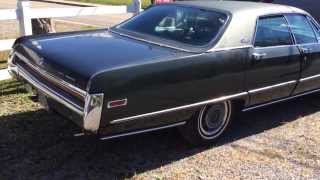 1970 Chrysler Three Hundred 300 with a 440 motor loaded.