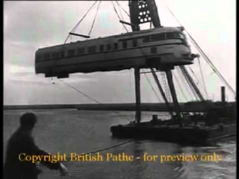 King Farouk's Train   British Pathé