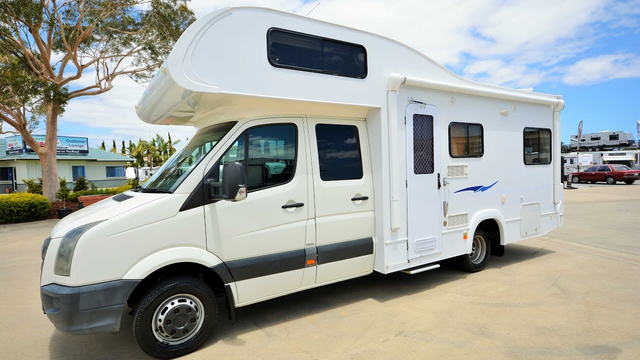 vw crafter renegade motorhome walk  um youtube