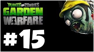Plants vs. Zombies Garden Warfare Walkthrough - ZOMBOT DOOM!! Part 15 (Xbox One 1080p HD)