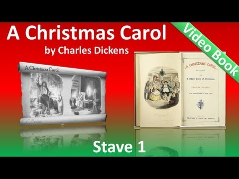 A Christmas Carol by Charles Dickens - Stave 1 - Marley's Ghost