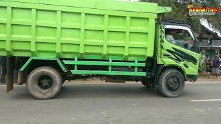 Diduga Mabuk,Tabrakan Truck VS Pic Up,