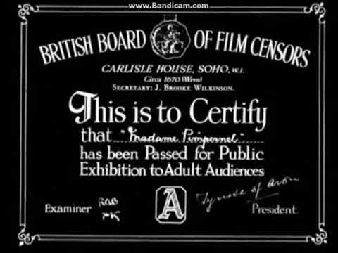British Board of Film Censors/Adelphi Films (1945)