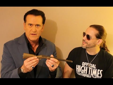 The HIGH TIMES : Bruce Campbell