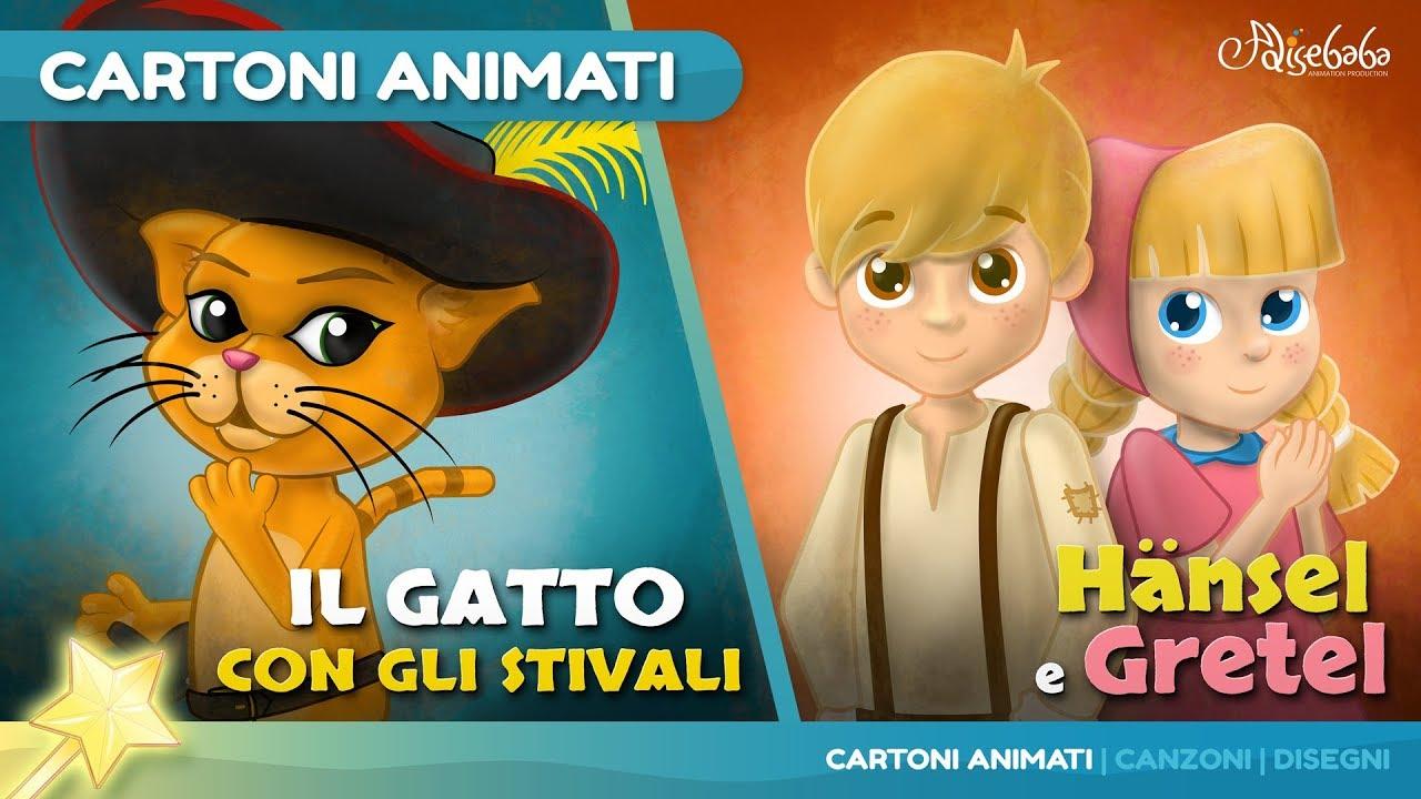 Il gatto con gli stivali storie per bambini cartoni animati youtube