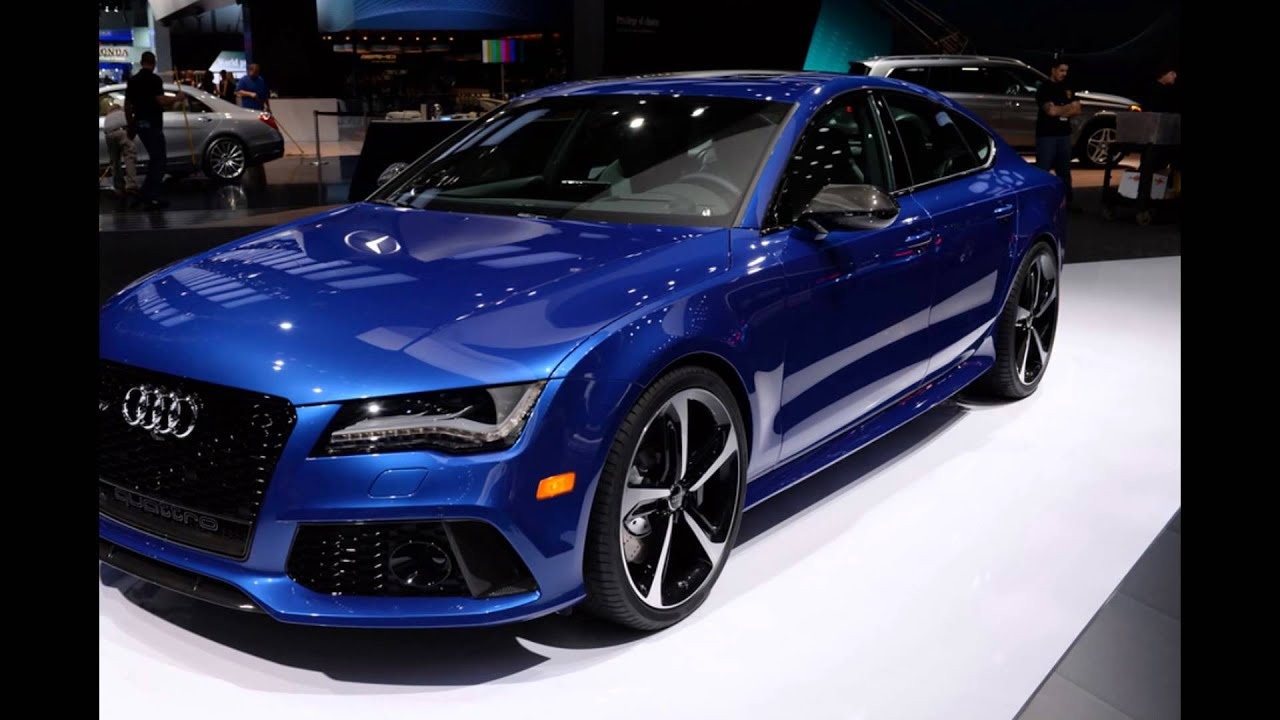 2016 Audi RS7 Sepang Blue pearl - YouTube