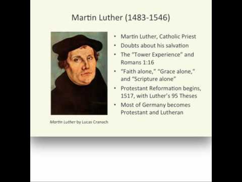 History 1112 Lecture 2 Reformation