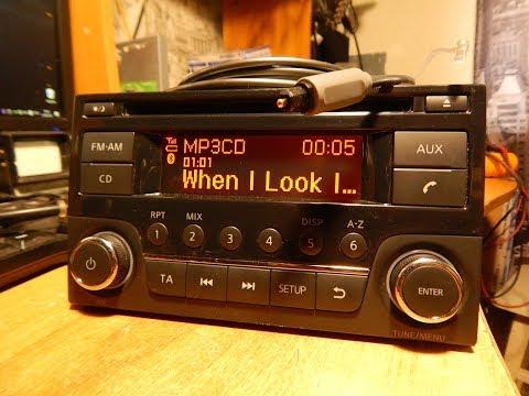 оптика в ШГУ Nissan ALMERA AGC-0071RF (USB+CD+BT)