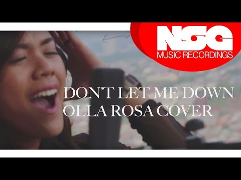 The Chainsmokers - Don't Let Me Down ft. Daya (Olla Rosa Cover)