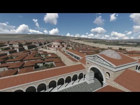 The Palace Complex of Galerius. Thessaloniki. 4th century AD.