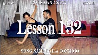 """Tzvika and Stav Bachata Master Lesson 132 """"Baila Conmigo"""""""