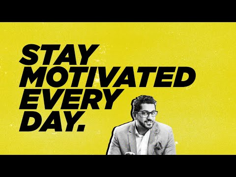 How To Stay Motivated EVERY DAY | Tuesday Talks