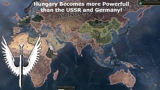 Hungary as a World Super-Power (Hoi4 Speedrun/Timelapse) (Part 1)