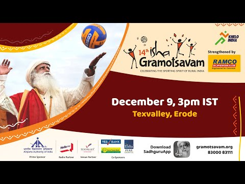Isha Gramotsavam 2018: Live Volleyball & Throwball Finals