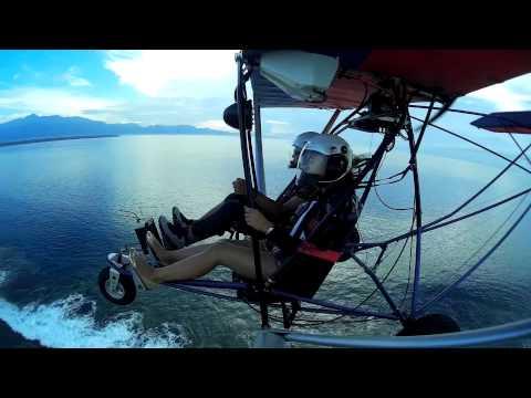Ultralight flying in Mati