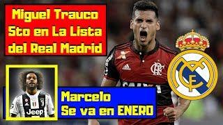¡EXCLUSIVA! 🔴 Miguel Trauco 5to en ¡LA LISTA! del Real Madrid ⚽ Marcelo se va ¡Si o Si!