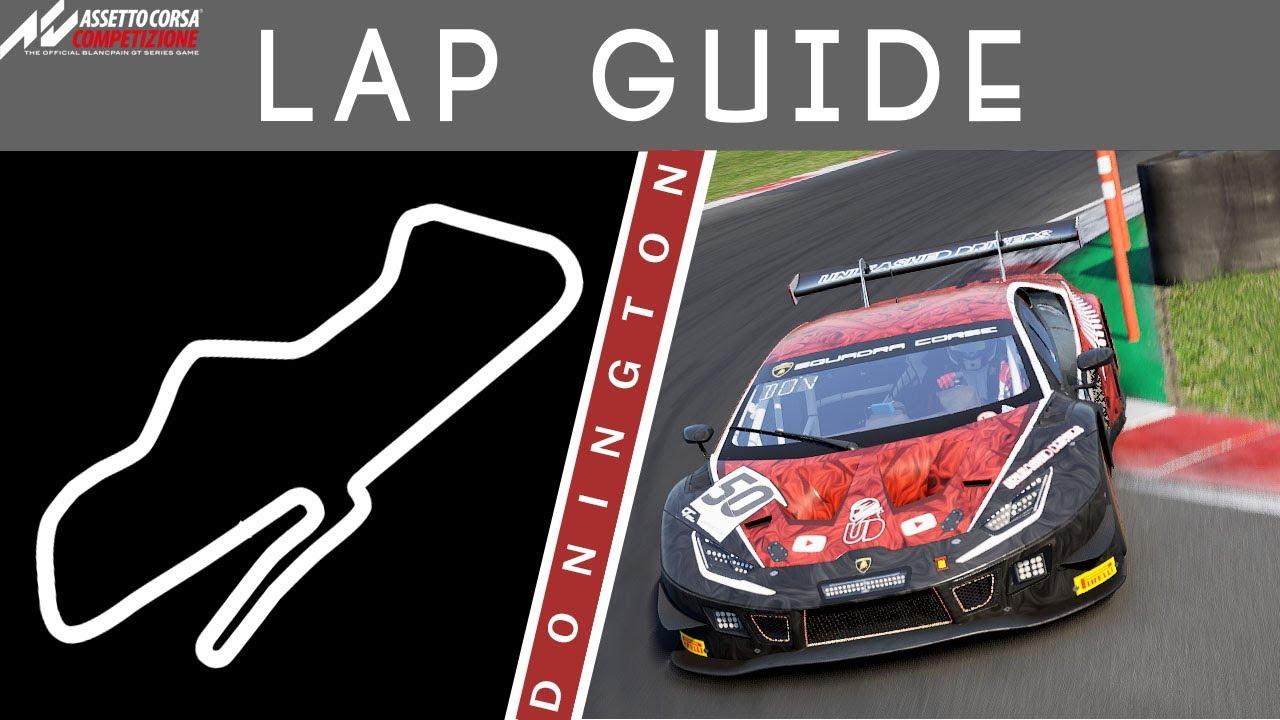 Donington Lap Guide Assetto Corsa Competizione