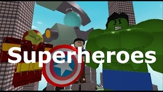 (Roblox) Super-héros