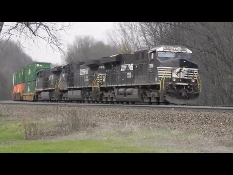 SD70ACU partial-sighting & West Slope Action: A visit to the NS Pittsburgh Line, Day 2 (4/21/16)