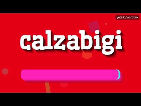 CALZABIGI - HOW TO PRONOUNCE IT!?