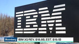 Why IBM Missed Sales Estimates