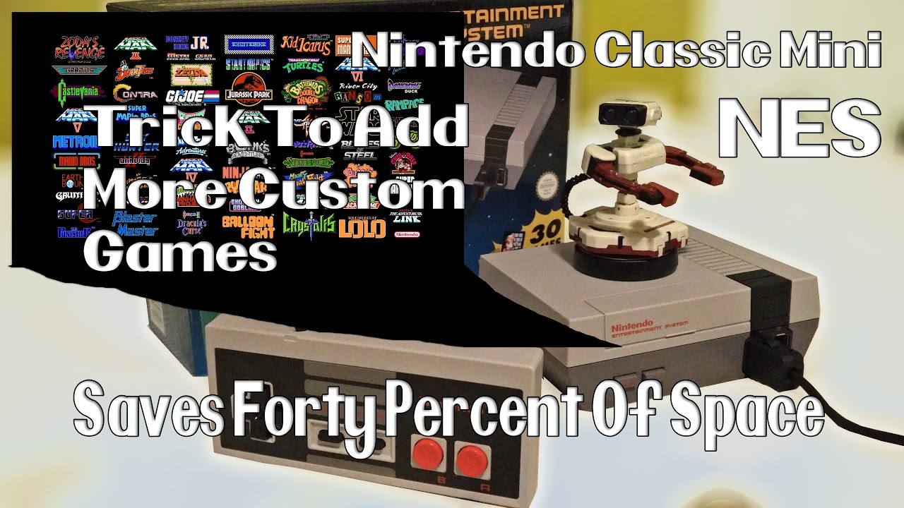 500+ GAMES!! HOW TO ADD GAMES TO THE NES MINI - …