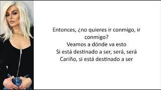 Bebe Rexha - Meant To Be (Acoustic Version) [Letra en español]