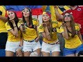 GIRL FANS IN FIFA WORLD CUP