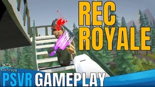 Rec Room: Battle Royale PSVR - Hunting For PSVR Frank!!!!
