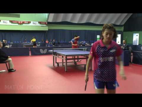 Valentina Sabitova - Jung Yumi. 2016 ITTF World Tour Belarus Open