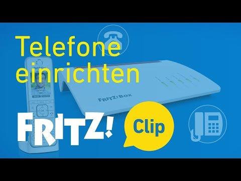 FRITZ! Clip – Telefone an der FRITZ!Box einrichten