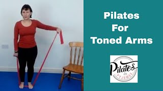 Pilates Band Work for Toned Arms