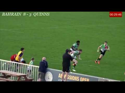 Try  for Abu Dhabi Harlequins vs Bahrain