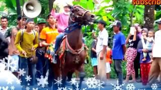 aksi keren kuda joget di klirong kebumen jateng
