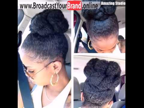 Quick and easy afro puff updo hairstyle for black women youtube quick and easy afro puff updo hairstyle for black women pmusecretfo Choice Image