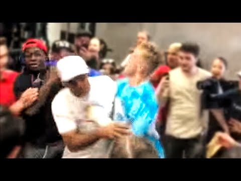 Jake Paul Punches Deji 3 Days before the Fight