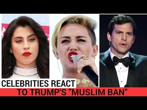 Thumbnail: Celebrities React To Trump's 'Muslim Ban'