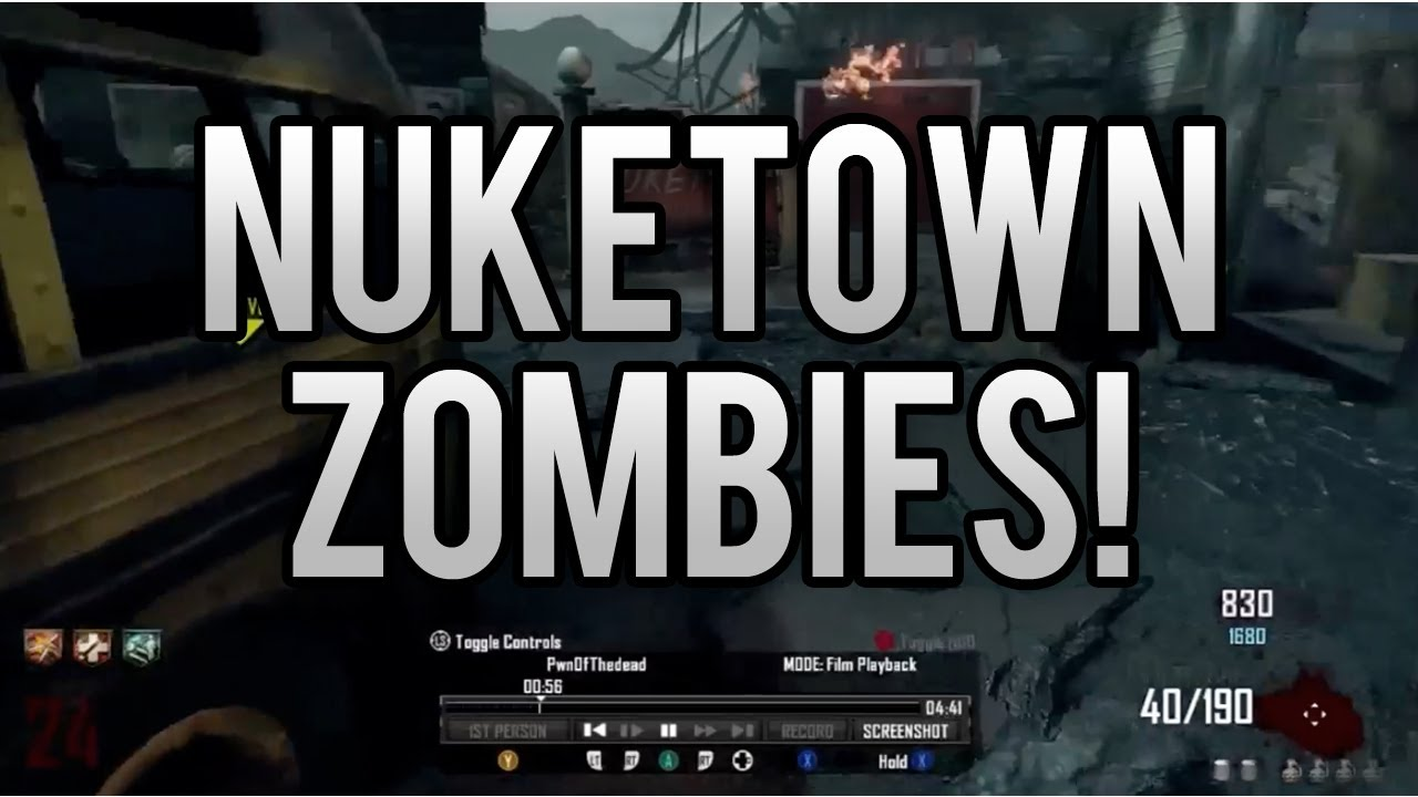 nuketown zombies how to pack a punch black ops 2 guide tutorial rh youtube com Nuketown Zombies Houses BO2 Nuketown
