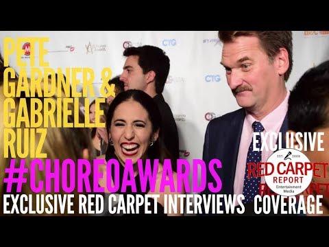 Pete Gardner & Gabrielle Ruiz CrazyExGirlfriend ed at 7th Annual World Choreography Awards