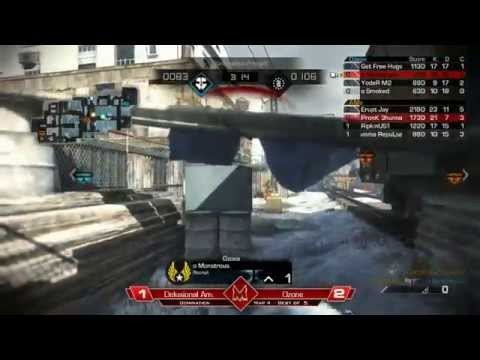 Winners Finals Ozone vs Delusonal Am Map 4: Freight Domination