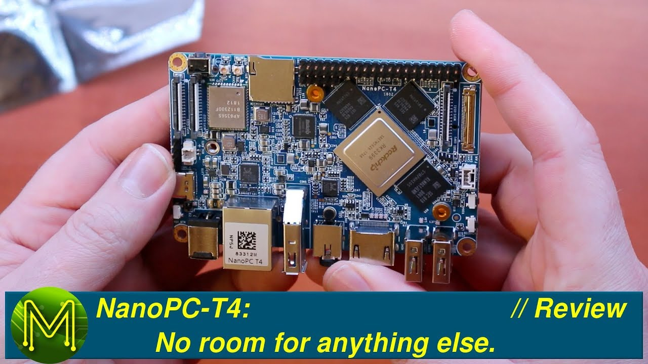 NanoPC-T4: No room for anything else  // Review - MickMake