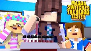 Minecraft EVIL STEPMOM SWAPS THE BLOOD TESTS