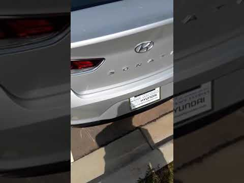 How to unlock the trunk on 2018 Hyundai Sonata if battery is dead
