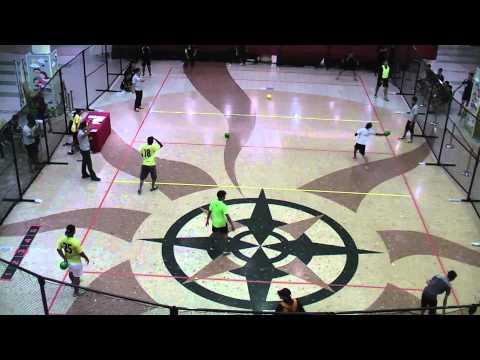 National Dodgeball League 2013: Match 40 - Piranha Hybridz vs Vipers Game 8/8 (Male)