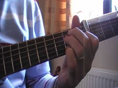 Ride A White Swan - T Rex acoustic cover showing chords - YouTube