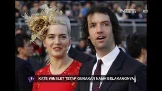 Entertainment News - Kate Winslet tidak akan mengganti nama belakang
