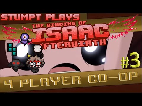 The Binding of Isaac: Afterbirth Co-op - #3 - Kids Mode (4 Player Gameplay)