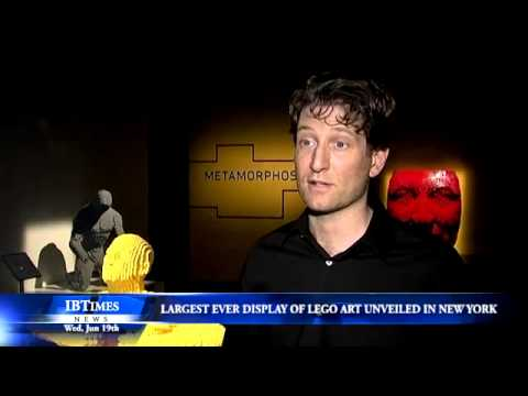 Largest Ever Display Of LEGO Art Revealed In New York