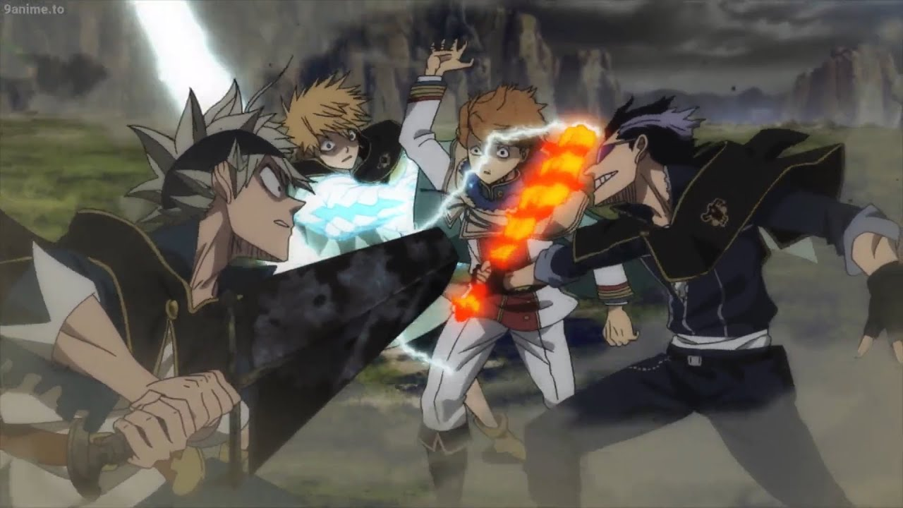 Black Clover Asta Magna And Luck Save Finral