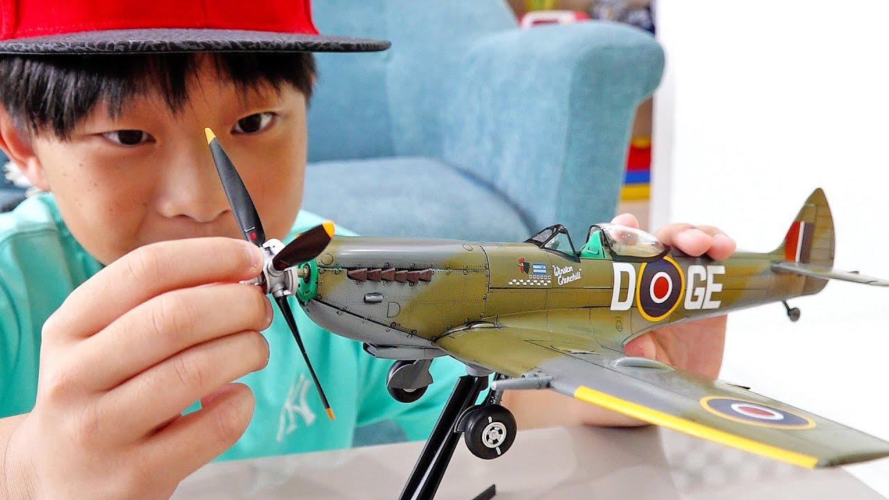 예준이의 비행기 장난감 조립놀이 가족 여행놀이 게임 플레이 Airplane Toy Assembly with Family Fun Trip